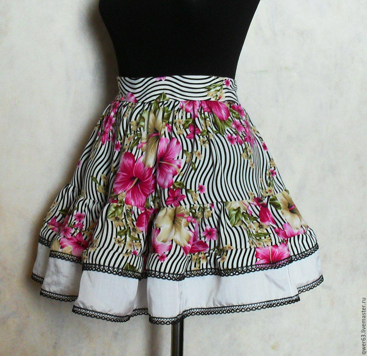 Купить красивую юбку мини