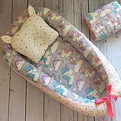Комплекты одежды ручной работы. Ярмарка Мастеров - ручная работа Гнездышко, кокон для малыша. Handmade.