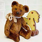 Мишки Тедди ручной работы. Ярмарка Мастеров - ручная работа Советский мишка Тедди коричневый (выкройка 50-70 годов). Handmade.