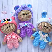Куклы и игрушки ручной работы. Ярмарка Мастеров - ручная работа МАЛЫШИ Йо-Йо крючком. Handmade.