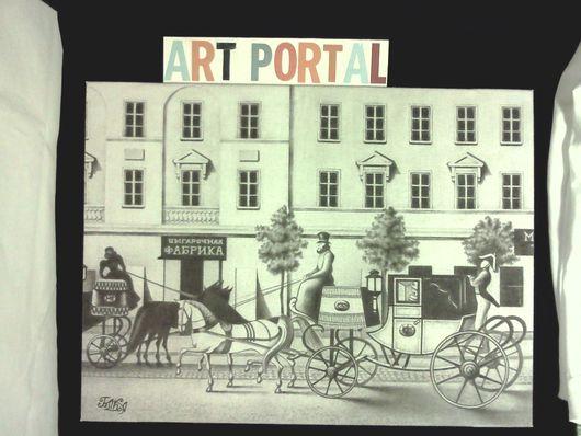 картина`Старинный Петербург`