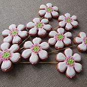 Сувениры и подарки handmade. Livemaster - original item Gingerbread gingerbread.Culinary souvenir handmade flower.. Handmade.