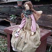 Куклы и игрушки ручной работы. Ярмарка Мастеров - ручная работа Груня. Феечка в стиле БОХО. Handmade.