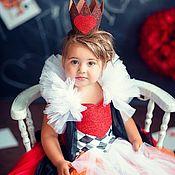 Платья ручной работы. Ярмарка Мастеров - ручная работа Карнавальное платье Красная Королева. Handmade.