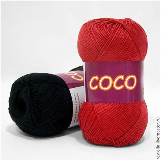 """Вязание ручной работы. Ярмарка Мастеров - ручная работа. Купить Пряжа """"Coco"""", Vita. Handmade. Комбинированный, пряжа для ручного вязания"""
