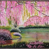 "Картины и панно handmade. Livemaster - original item ""Весна"" Картина маслом. Handmade."