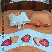 Для дома и интерьера ручной работы. Ярмарка Мастеров - ручная работа Комплект  (покрывало и подушки). Handmade.