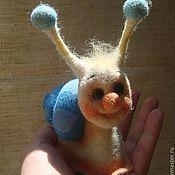 """Куклы и игрушки ручной работы. Ярмарка Мастеров - ручная работа игрушка """"Улиточка"""". Handmade."""