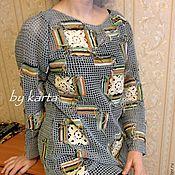 Одежда ручной работы. Ярмарка Мастеров - ручная работа Туника Пэчворк. Handmade.