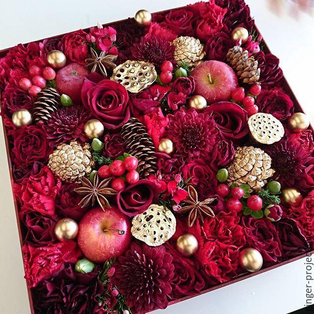На новый год дарят цветы