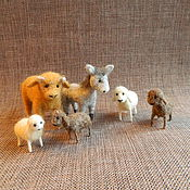 Куклы и игрушки handmade. Livemaster - original item Animals for the Christmas Nativity scene 2. Handmade.