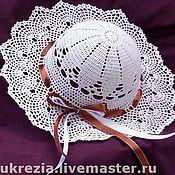 Работы для детей, ручной работы. Ярмарка Мастеров - ручная работа Ажурные шляпки для ваших принцесс. Handmade.
