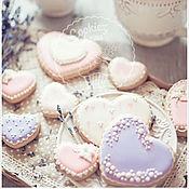 Сувениры и подарки handmade. Livemaster - original item Gingerbread hearts. Handmade.
