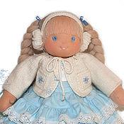 Куклы и игрушки ручной работы. Ярмарка Мастеров - ручная работа вальдорфская кукла Снежинка. Handmade.