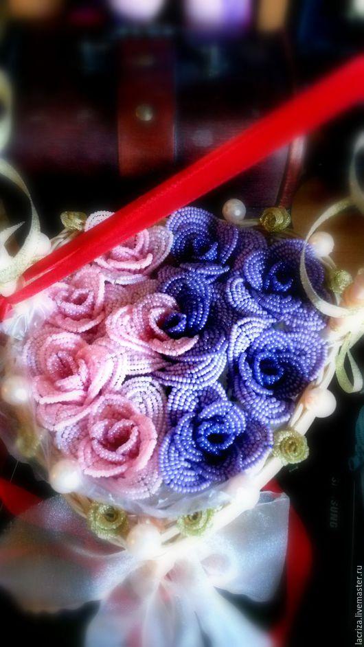 Подарки на свадьбу ручной работы. Ярмарка Мастеров - ручная работа. Купить Свадебная корзина. Handmade. Комбинированный, цветы на свадьбу