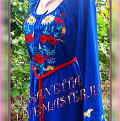 """Одежда ручной работы. Ярмарка Мастеров - ручная работа Вышиванка женская """"Свежесть"""". Handmade."""