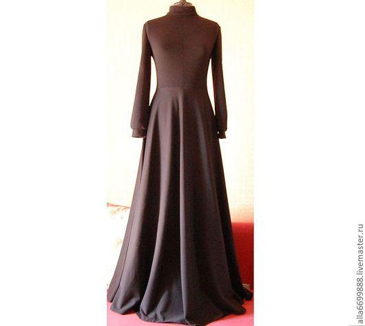 Платья ручной работы. Ярмарка Мастеров - ручная работа. Купить Платье трикотажное. Handmade. Платье, стильное платье, пышное платье