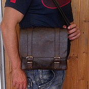 Сумки и аксессуары handmade. Livemaster - original item Bag leather mens 120. Handmade.