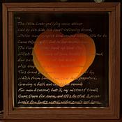 """Свадебный салон ручной работы. Ярмарка Мастеров - ручная работа Акцентный светильник """"Два сердца"""" 2. Handmade."""
