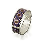 Bead bracelet handmade. Livemaster - original item Dark blue luxury jewelry