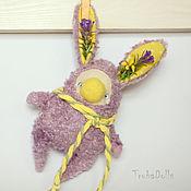 """Куклы и игрушки ручной работы. Ярмарка Мастеров - ручная работа Кроликоид """"Лаванда из ушей"""". Handmade."""