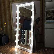 Для дома и интерьера ручной работы. Ярмарка Мастеров - ручная работа Зеркало на подставке FANTOM 180/80 на 18 патронов. Handmade.