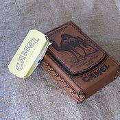 Сумки и аксессуары handmade. Livemaster - original item Cigarette case. sigaretta. Camel-2. Personalized gift. Handmade.