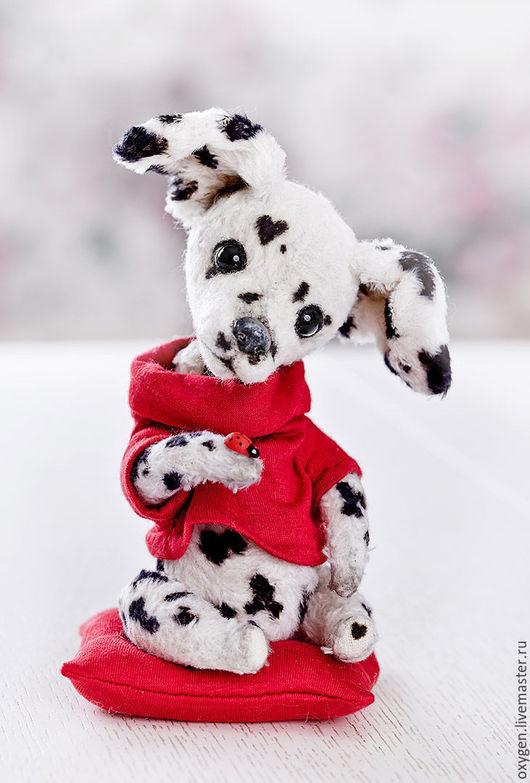 Мишки Тедди ручной работы. Ярмарка Мастеров - ручная работа. Купить Собака долматинец Бим. Handmade. Мишка, авторская игрушка