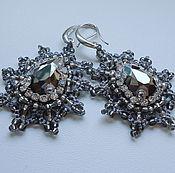 Украшения handmade. Livemaster - original item Tatting earrings