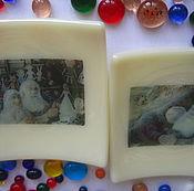 """Посуда ручной работы. Ярмарка Мастеров - ручная работа Тарелочки """"Старость в радость"""". Handmade."""