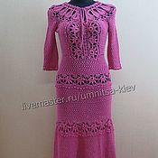 Одежда handmade. Livemaster - original item Beautiful summer crochet dress crochet