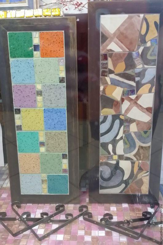 """Мебель ручной работы. Ярмарка Мастеров - ручная работа. Купить Мозаика, Полка """"Испанец"""". Handmade. Комбинированный, уютный дом, мозаика"""