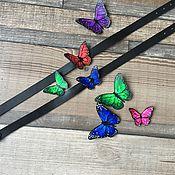 Аксессуары handmade. Livemaster - original item Choker with bow tie -3. Handmade.
