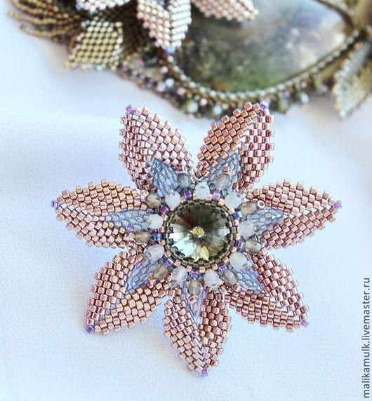 волшебный цветок- кольцо