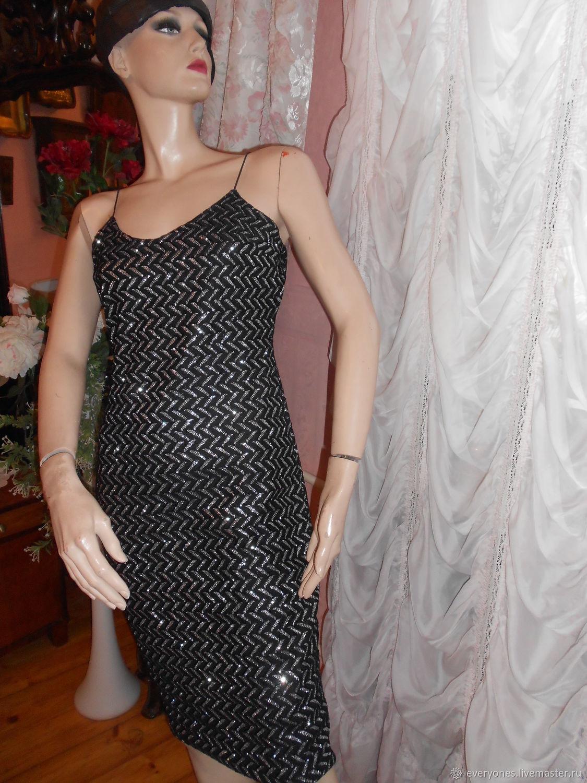 3870b018e74 Одежда. Ярмарка Мастеров - ручная работа. Купить Винтаж  Платье брендовое  вечернее.