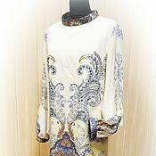 Одежда ручной работы. Ярмарка Мастеров - ручная работа Платье из тонкой шерсти. Handmade.