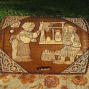 """Для дома и интерьера ручной работы. Ярмарка Мастеров - ручная работа Берестяная хлебница """"Золотое яичко"""". Handmade."""