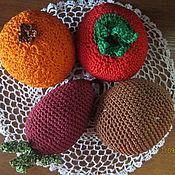 Куклы и игрушки ручной работы. Ярмарка Мастеров - ручная работа овощи, фрукты. Handmade.