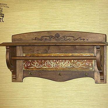 """Мебель ручной работы. Ярмарка Мастеров - ручная работа Вешалка """"Порхание бабочек"""". Handmade."""