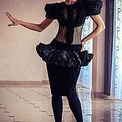 """Одежда ручной работы. Ярмарка Мастеров - ручная работа вязаный костюм из коллекции""""Магия дня и ночи"""". Handmade."""