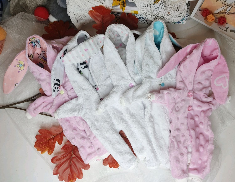 Плюшевый комбинезон для текстильной куклы Одежда для интерьерной куклы, Одежда для кукол, Шахты,  Фото №1
