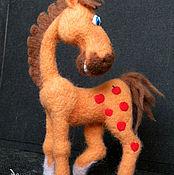 Куклы и игрушки ручной работы. Ярмарка Мастеров - ручная работа Веселый конь. Handmade.