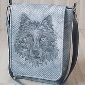 Сумки и аксессуары handmade. Livemaster - original item Bag Wolf. Handmade.