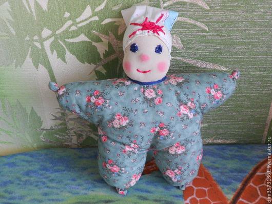 Вальдорфская игрушка ручной работы. Ярмарка Мастеров - ручная работа. Купить Кукла-бабочка. Handmade. Оливковый, кукла ручной работы