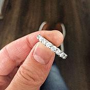 Свадебный салон ручной работы. Ярмарка Мастеров - ручная работа Кольцо с бриллиантами 2 карата. Handmade.