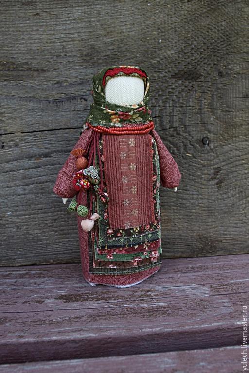 """Народные куклы ручной работы. Ярмарка Мастеров - ручная работа. Купить Куколка """"Семь добродетелей"""". Handmade. Русский, великий пост"""