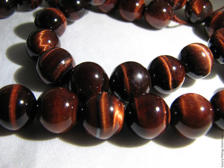 Bull's-eye bead 10 mm, Beads1, Moscow,  Фото №1