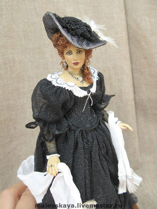 Коллекционные куклы ручной работы. Ярмарка Мастеров - ручная работа. Купить Александра. Handmade.