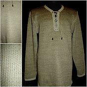 Одежда handmade. Livemaster - original item 70% Linen 30% Italian cotton.Men`s shirt