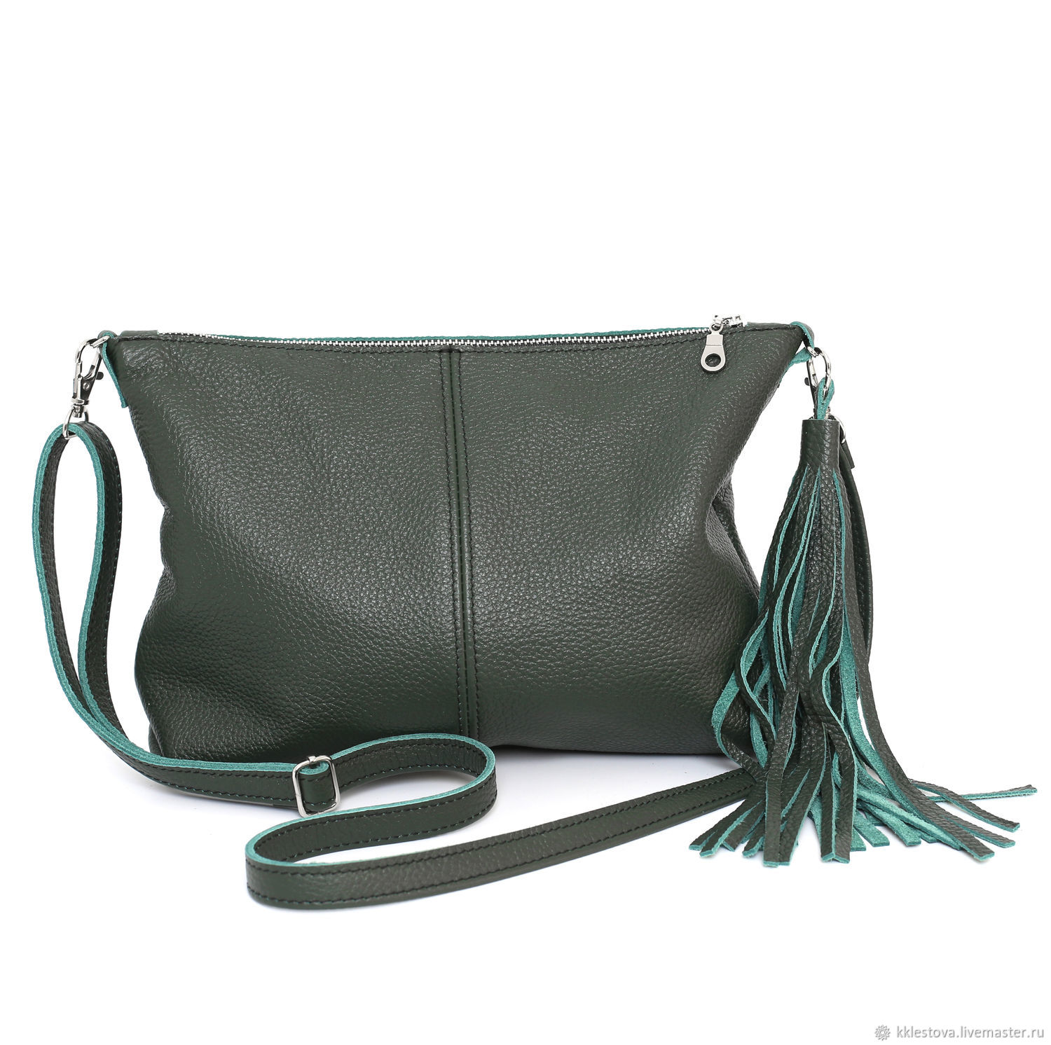 Clutch shoulder Bag with strap and pocket Crossbody, Clutches, Moscow,  Фото №1